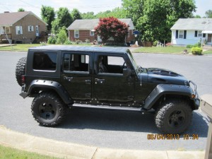 TOTL JK Hood Dark Green Side