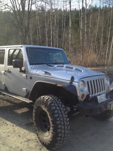 LS powered JK in Canada with a TOTL Innovations heat Expulsion Hood