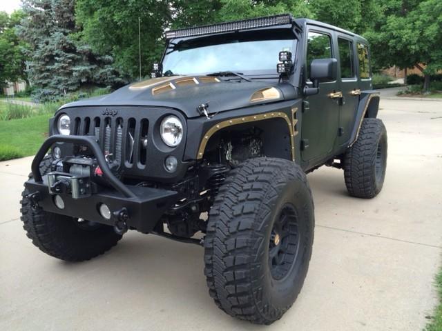 Jeep JK Heat Reduction Hood By TOTL Innovations