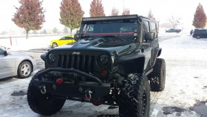 Jeep Heat Reduction Hood