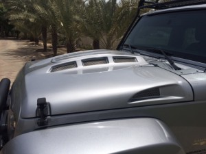 Jeep Wrangler JK Heat Reduction Hood