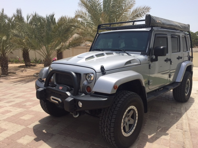 Jeep JK Heat Reducing Hood