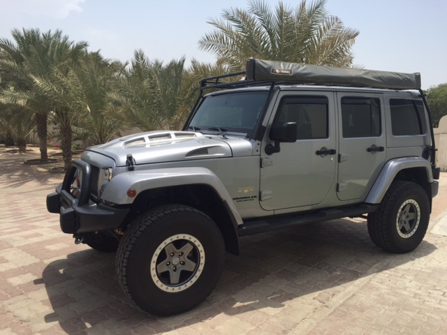 Jeep Heat Reduction Hood