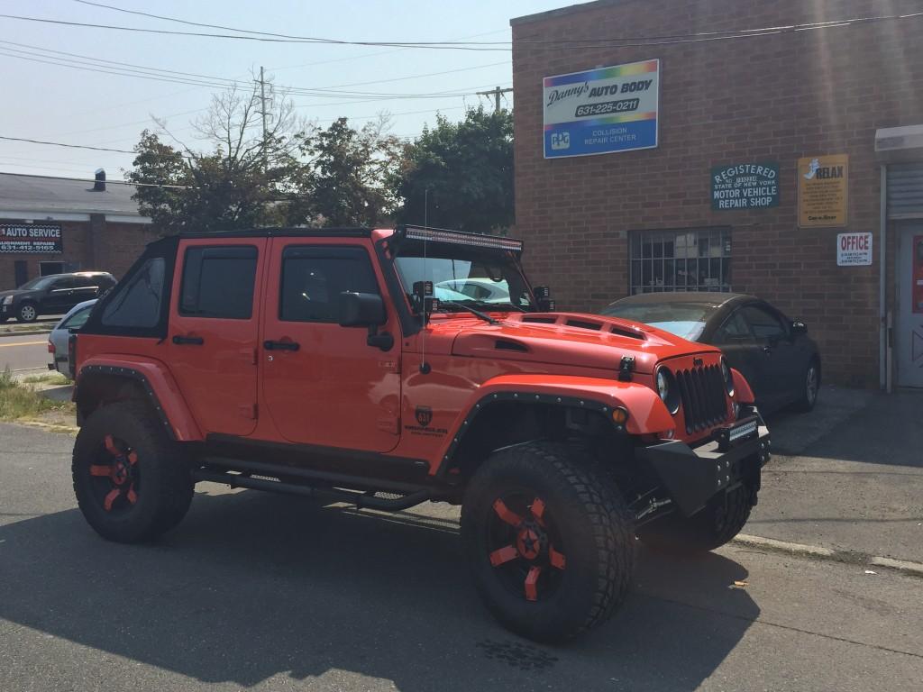 TOTL Jeep Wrangler Heat Reduction Hood