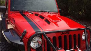 TOTL Jeep JK Heat Reduction Hood