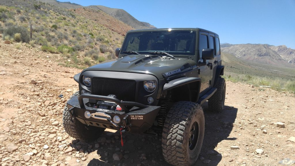 TOTL Innovations Jeep Hood