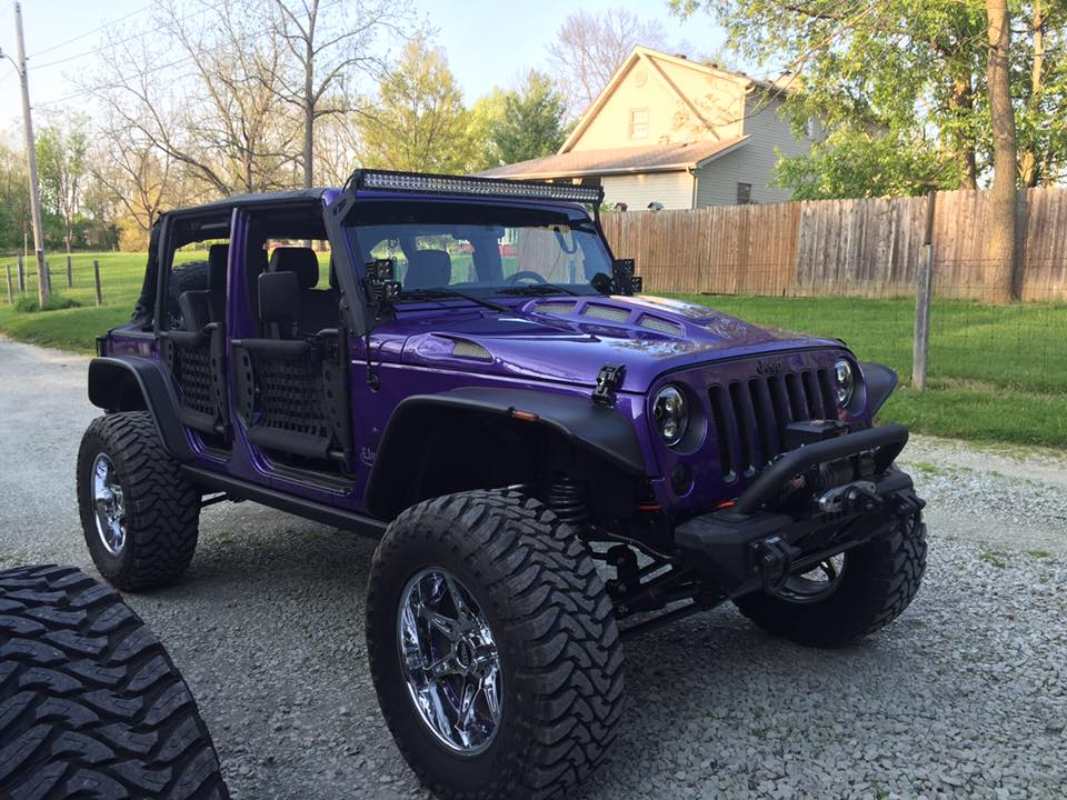 Made in USA Jeep Hood