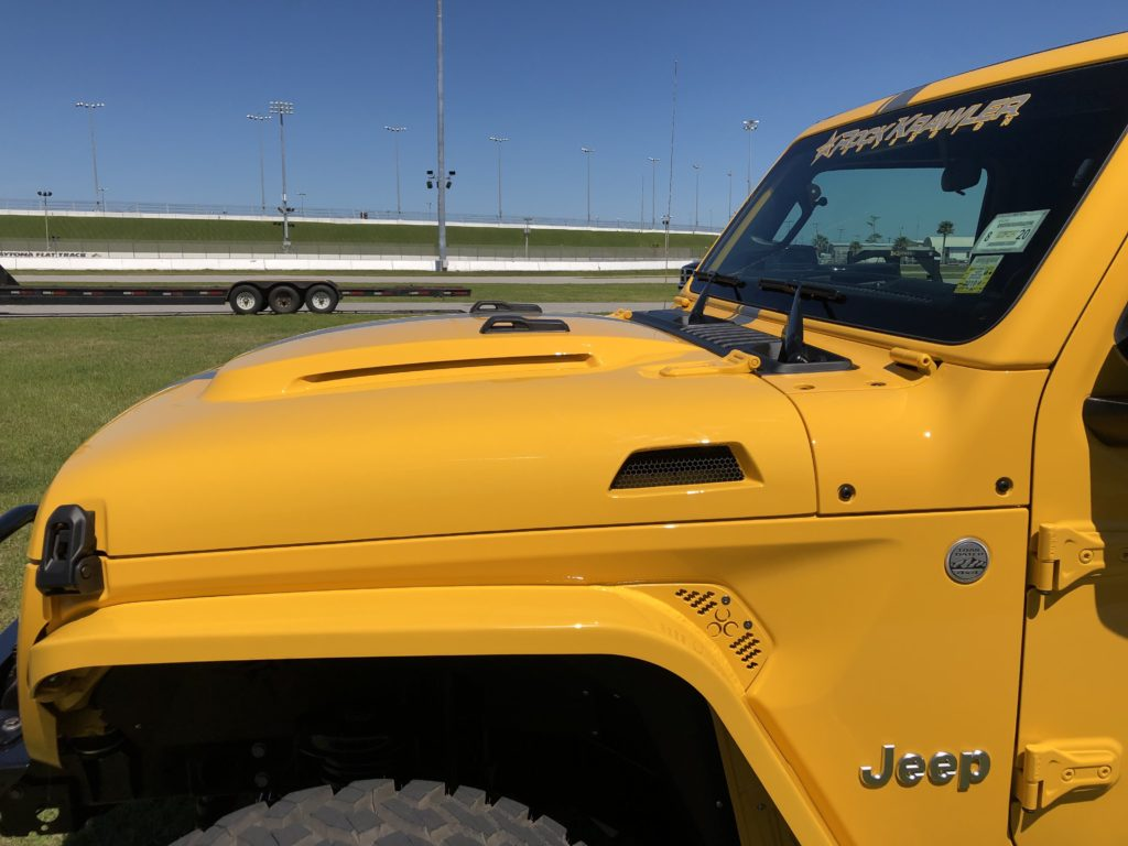 Jeep Wrangler JL Heat Evacuation Hood