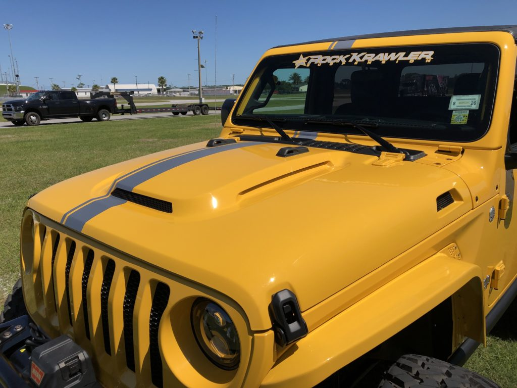 Jeep Wrangler JL Heat Expulsion Hood