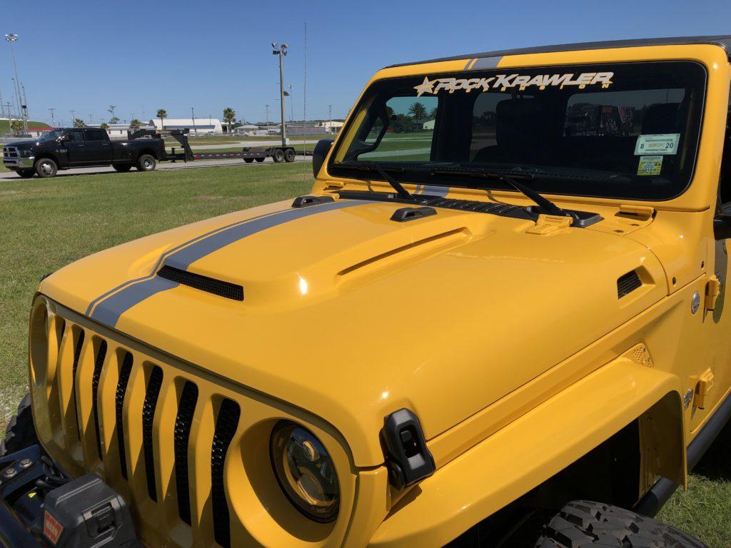 Jeep Wrangler JL Heat Expulsion Hood