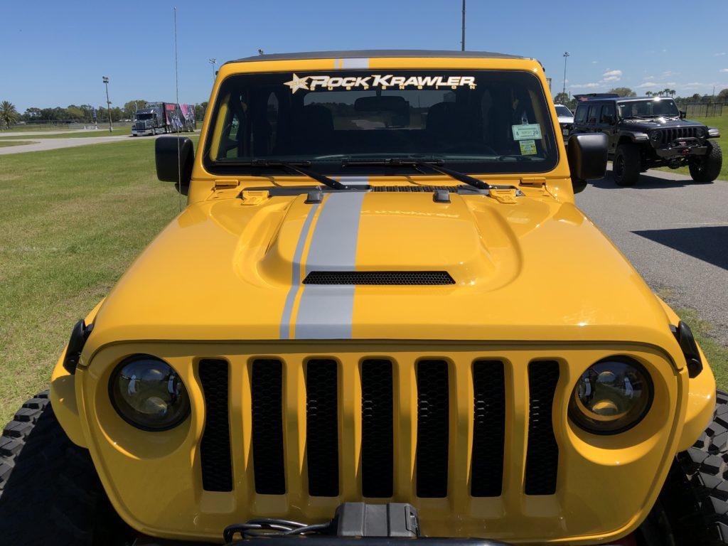 Jeep Wrangler JLU Ram Air Hood