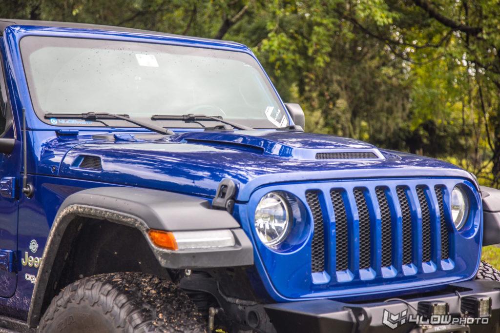 Rock Crawler Jeep JL Hood
