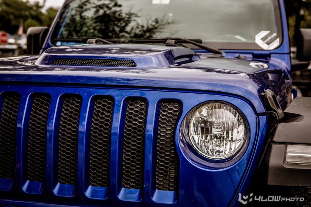 Jeep Wrangler JLUR Heat Hood