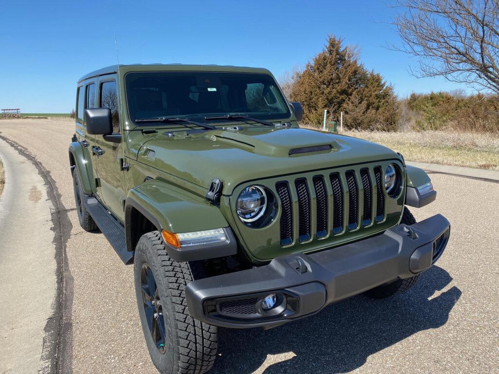 Jeep Wrangler Heat Expulsion Hood